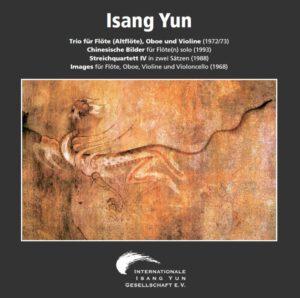 Isang Yun - CD 1 (CD IYG 001 der Internationalen Isang Yun Gesellschaft e.V., © + ℗ 1999)