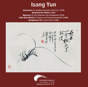 Isang Yun - CD 2 (CD IYG 002 der Internationalen Isang Yun Gesellschaft e.V., © + ℗ 2001)